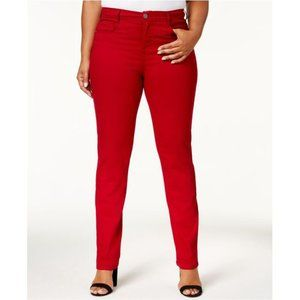 Style & Co. Tummy Control High Rise Tapered Jeans